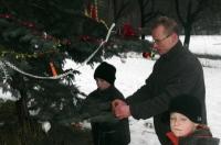 U stromku v Bezručáku.